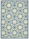Nourison Sun and Shade SND29 Starry Eyed Porcelain Machine Woven Area Rug by Waverly