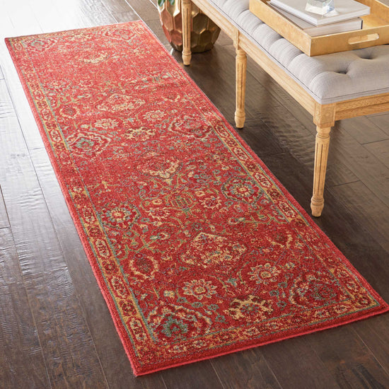 Nourison Somerset ST90 Brick Area Rug – Incredible Rugs and Decor