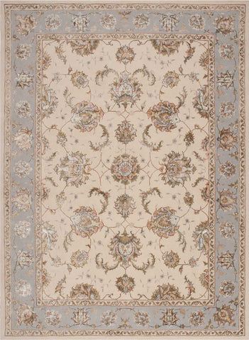 Nourison Serenade SRD01 Ivory/Grey Area Rug by Michael Amini main image