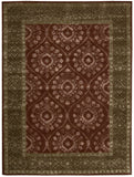Nourison Symphony SYM06 Ruby Hand Tufted Area Rug