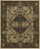 Nourison Tahoe TA01 Beige Hand Knotted Area Rug
