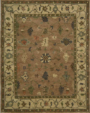 Nourison Tahoe TA05 Copper Hand Knotted Area Rug