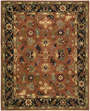 Nourison Tahoe TA12 Rust Hand Knotted Area Rug