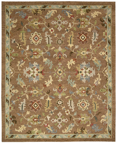 Nourison Tahoe TA13 Penny Hand Knotted Area Rug