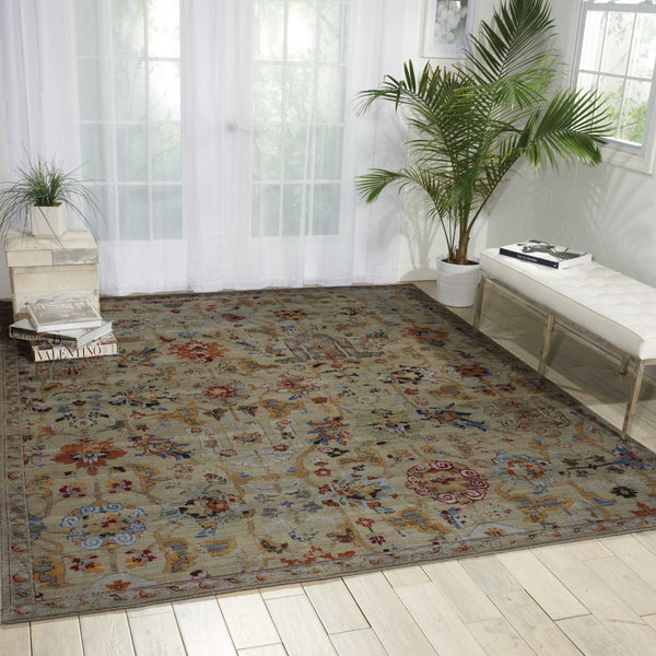 nourison timeless tml12 taupe area rug incredible rugs and decor