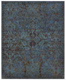 Nourison Timeless TML02 Peacock Machine Woven Area Rug