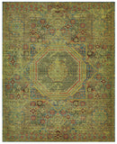 Nourison Timeless TML06 Teal Machine Woven Area Rug
