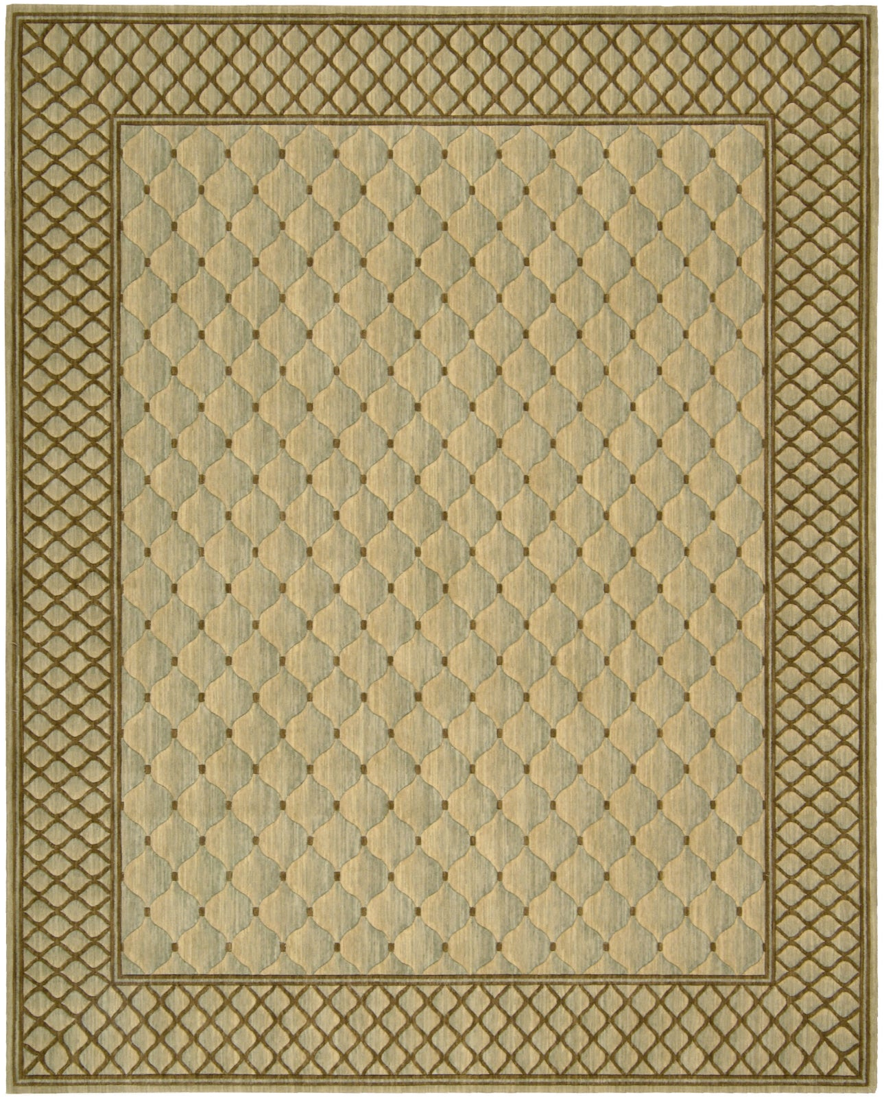 Nourison Vallencierre VA26 Light Green Area Rug main image