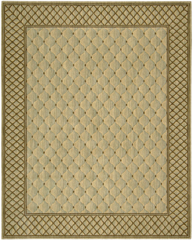 Nourison Vallencierre VA26 Light Green Machine Woven Area Rug