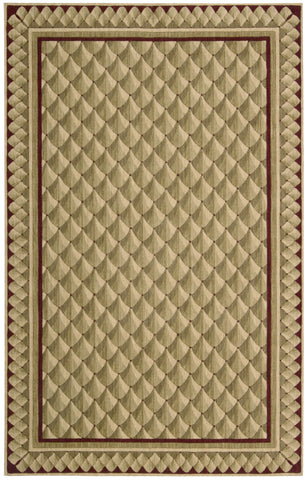 Nourison Vallencierre VA73 Camel Machine Woven Area Rug