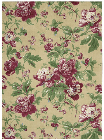Nourison Artisanal Delight WAD01 Forever Yours Buttercup Area Rug by Waverly main image