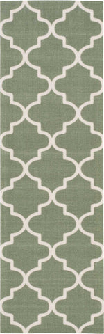 Nourison Wav01/Sun and Shade SND25 Moss Area Rug Mirror by Waverly main image