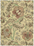 Nourison Global Awakening WGA01 Imperial Dress Antique Machine Woven Area Rug by Waverly