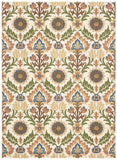 Nourison Global Awakening WGA03 Santa Maria Pear Machine Woven Area Rug by Waverly