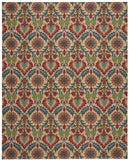 Nourison Global Awakening WGA03 Santa Maria Spice Machine Woven Area Rug by Waverly