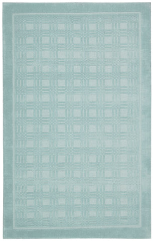 Nourison Westport WP32 Aqua Hand Tufted Area Rug