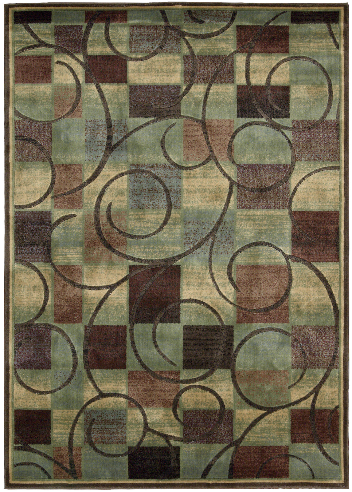 Nourison Expressions XP01 Brown Area Rug main image