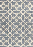 KAS Oasis 1654 Slate Blue Manor Machine Woven Area Rug
