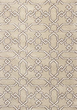 KAS Oasis 1655 Sand Manor Machine Woven Area Rug