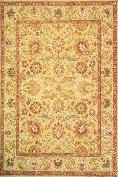 Momeni Old World OW-01 Gold Area Rug main image