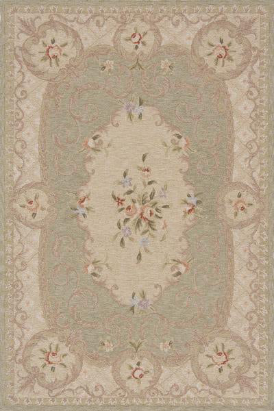 Momeni Old World OW-21 Green Area Rug main image
