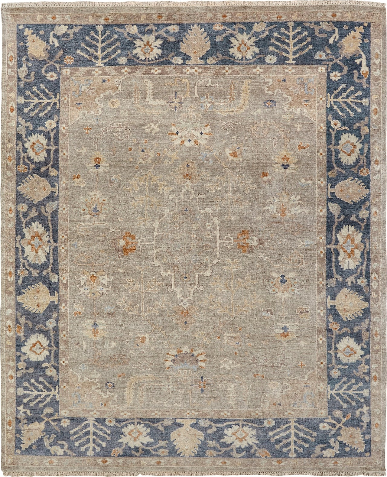 Ancient Boundaries Omni Omn 474 Grey Navy Area Rug Incredible Rugs And Decor