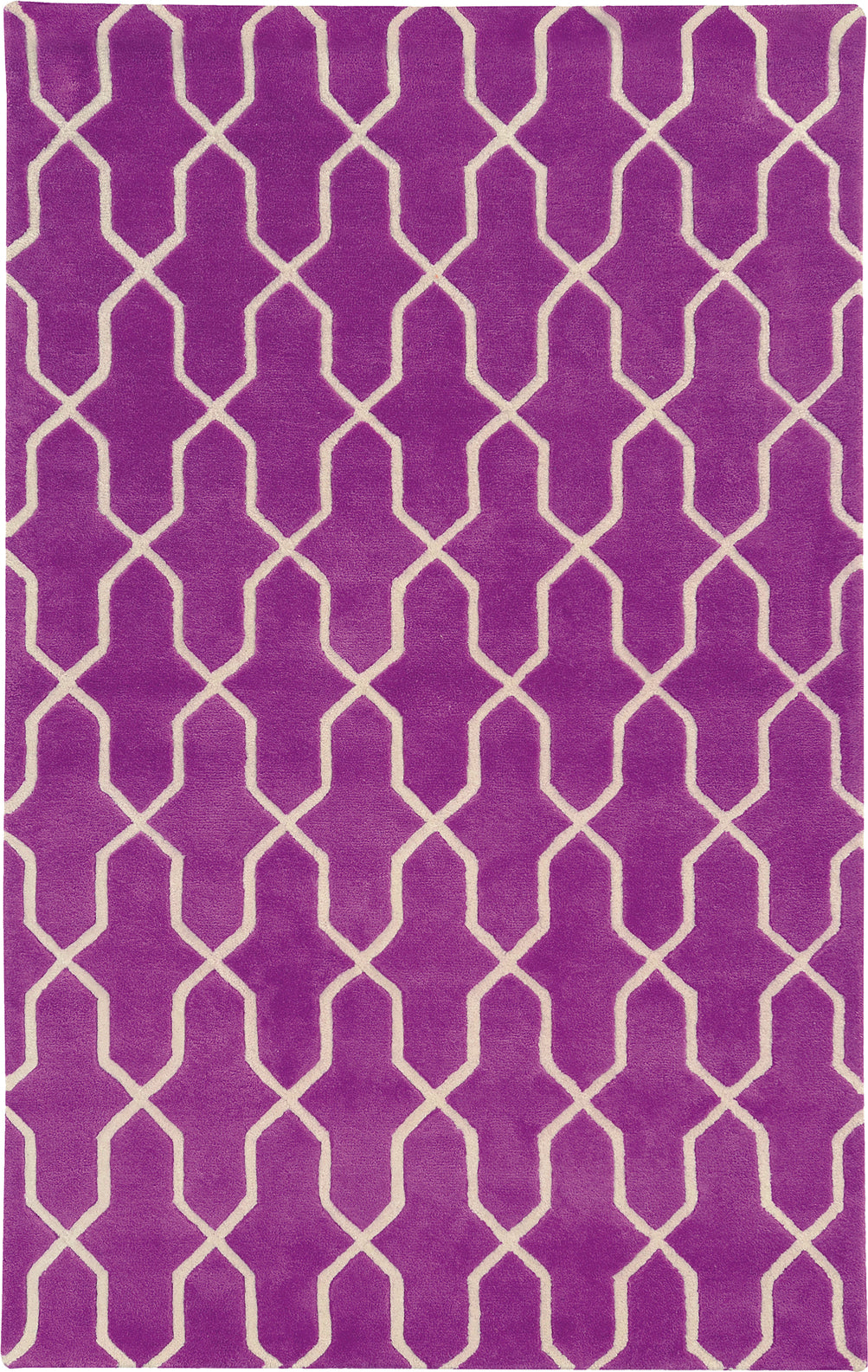 Pantone Universe Optic 41101 Purple/Ivory Area Rug main image