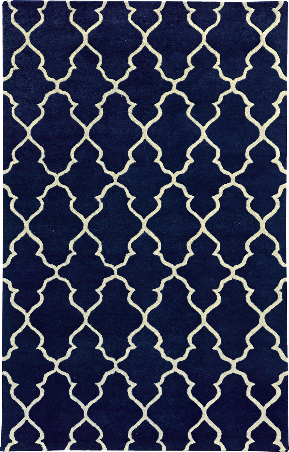 Pantone Universe Optic 41104 Navy/Ivory Area Rug main image