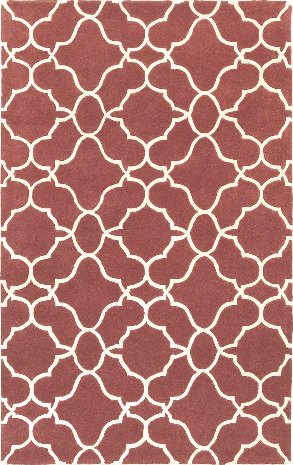 Pantone Universe Optic 41109 Rust/Ivory Area Rug main image