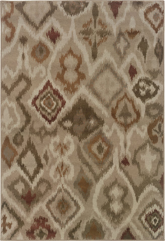 Oriental Weavers Adrienne 4173B Beige/Orange Area Rug main image