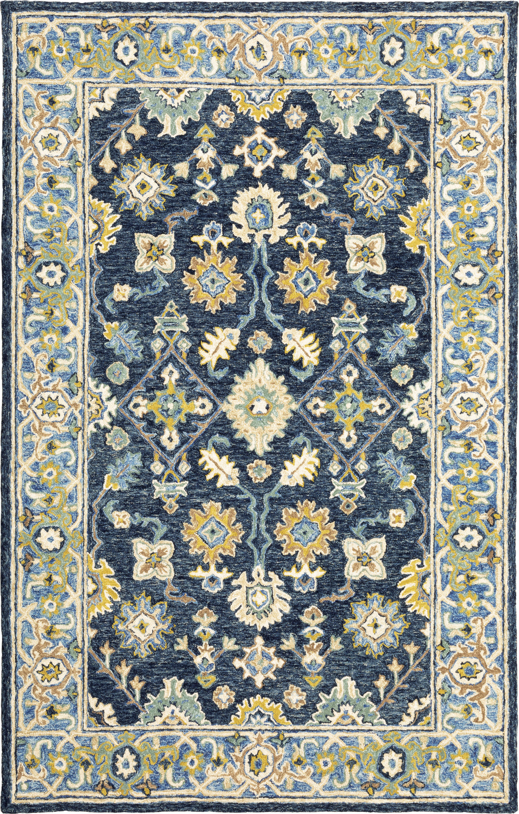 Oriental Weavers Alfresco 28405 Navy/Blue Area Rug main image