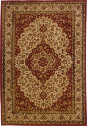 Oriental Weavers Allure 011D1 Red/Gold Area Rug main image