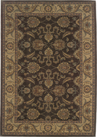 Oriental Weavers Allure 012B1 Brown/Beige Area Rug main image