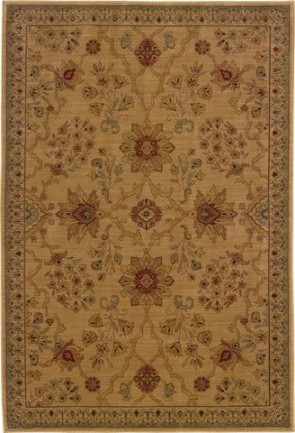 Oriental Weavers Allure 013C1 Beige/Red Area Rug main image