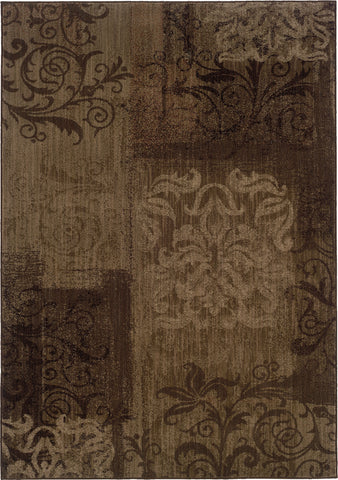 Oriental Weavers Allure 060B1 Brown/Beige Area Rug main image
