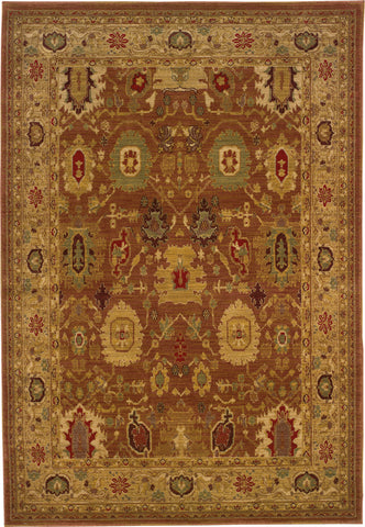 Oriental Weavers Allure 006F1 Rust/Gold Area Rug main image
