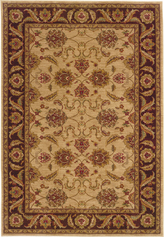 Oriental Weavers Allure 008F1 Beige/Brown Area Rug main image