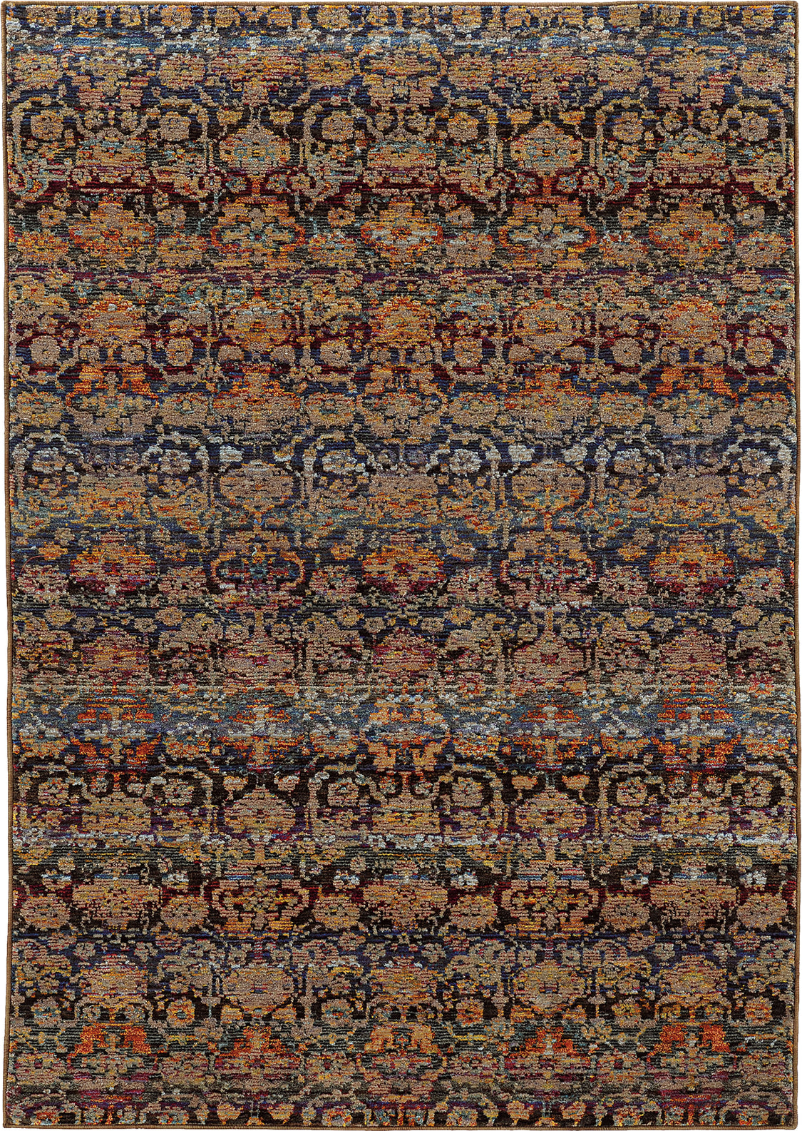 Oriental Weavers Andorra 6836C Multi/ Blue Area Rug main image