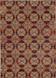 Oriental Weavers Andorra 6883A Red/ Gold Area Rug main image