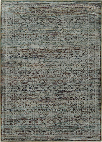 Oriental Weavers Andorra 7127A Blue/ Purple Area Rug main image