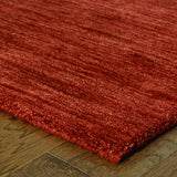 Oriental Weavers Aniston 27103 Red/Red Area Rug Corner