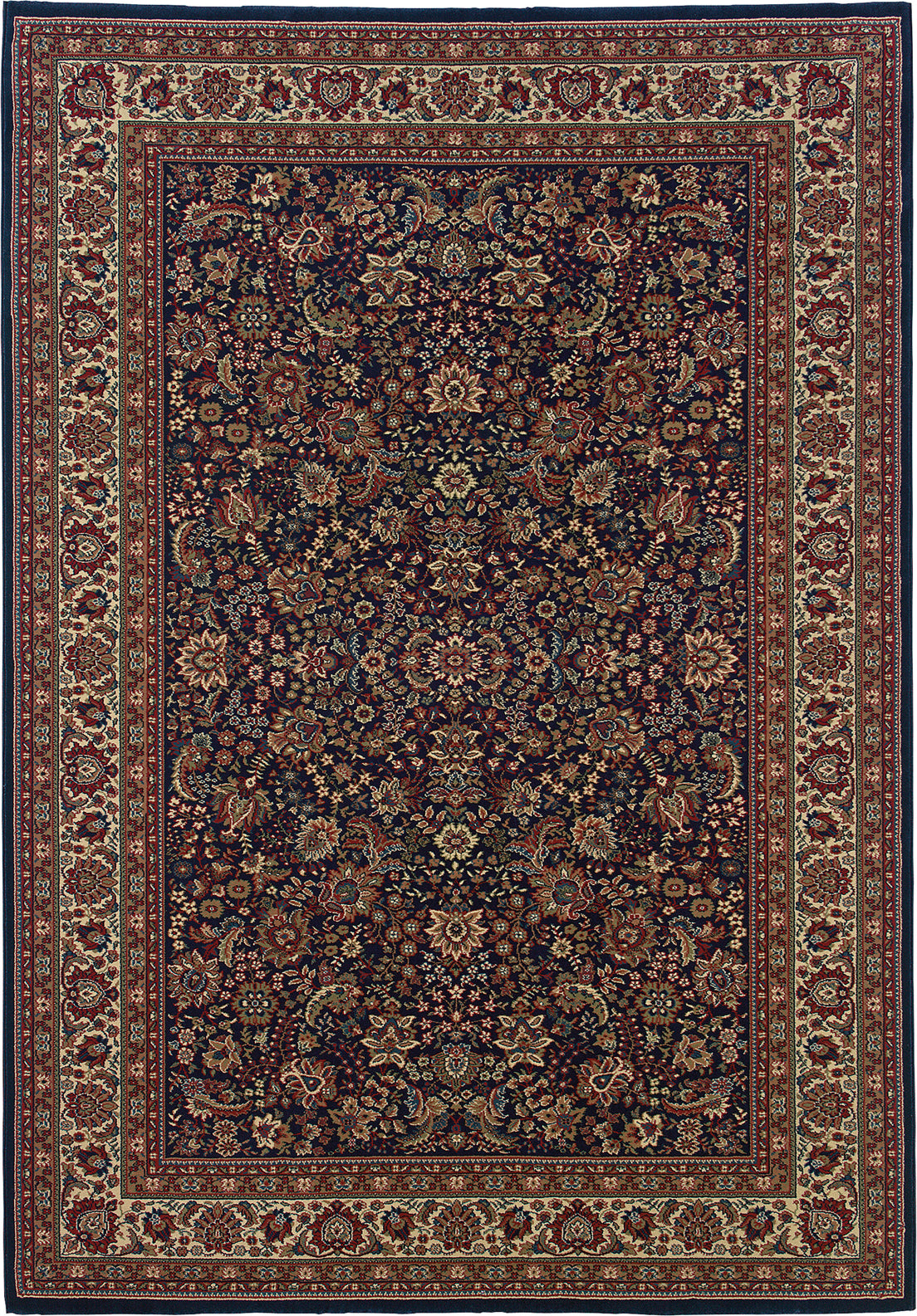 Oriental Weavers Ariana 113B2 Blue/Red Area Rug main image