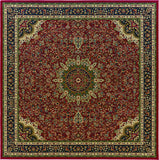 Oriental Weavers Ariana 116R3 Red/Blue Area Rug 8' Square