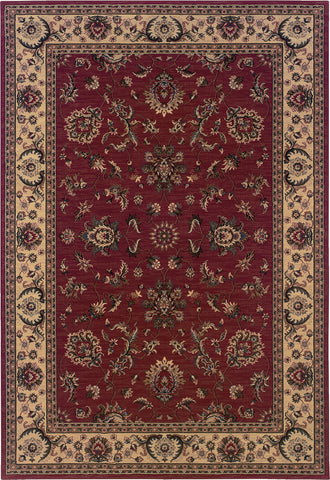 Oriental Weavers Ariana 311C3 Red/Ivory Area Rug main image