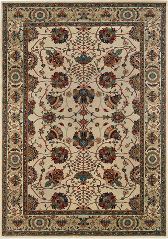 Oriental Weavers Ariana 431O3 Ivory/Red Area Rug main image