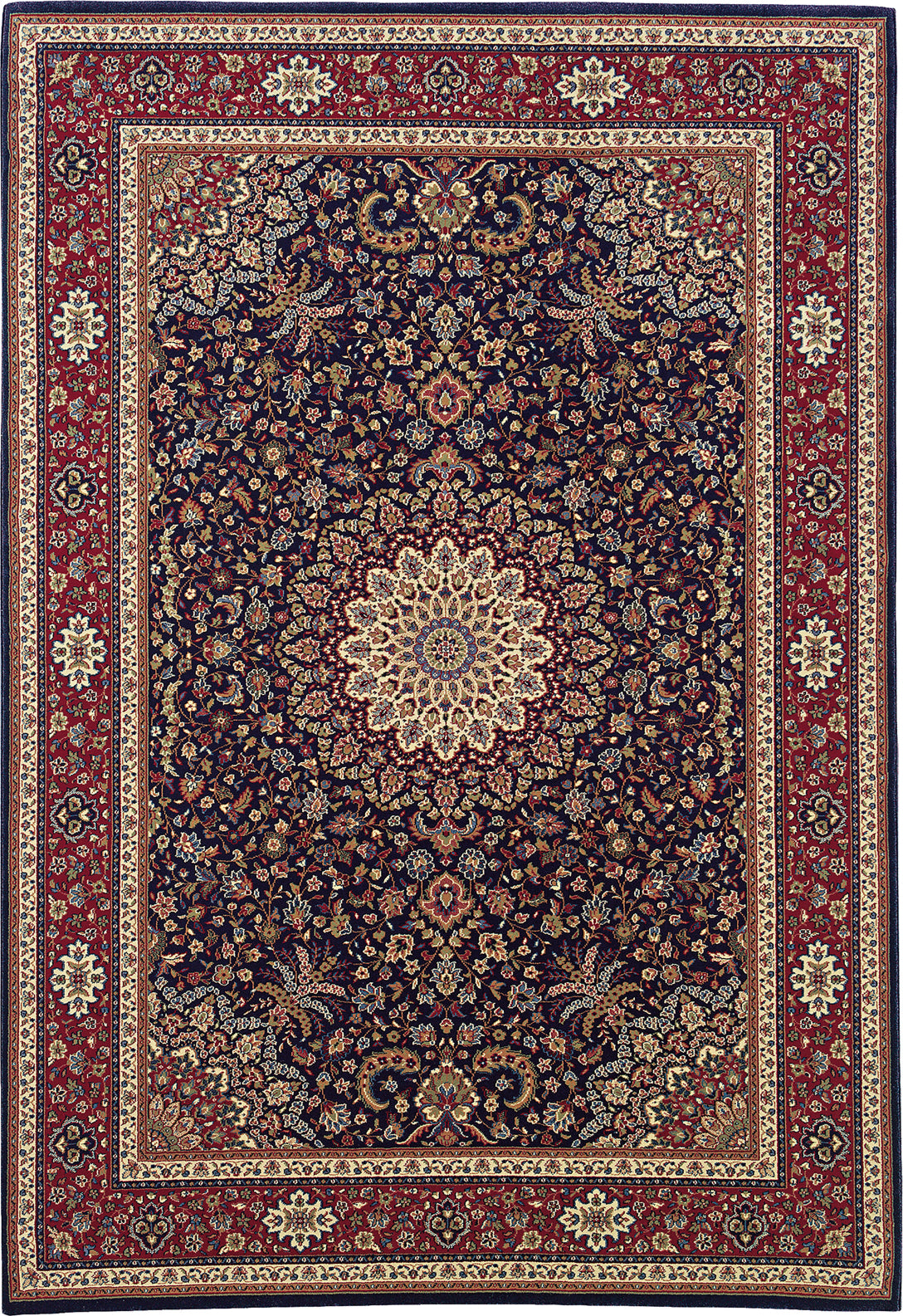 Oriental Weavers Ariana 095B3 Blue/Red Area Rug main image