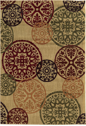 Oriental Weavers Aston 2160Y Beige/Multi Area Rug main image