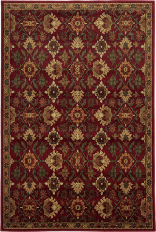 Oriental Weavers Aston 536R9 Red/Green Area Rug main image