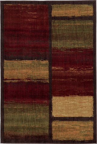 Oriental Weavers Aston 8026X Brown/Red Area Rug main image