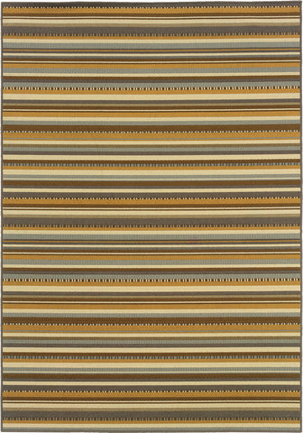 Oriental Weavers Bali 1001J Grey/Gold Area Rug main image